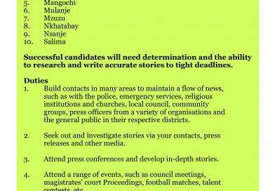 We are Looking for News Correspondents at Montfort Media